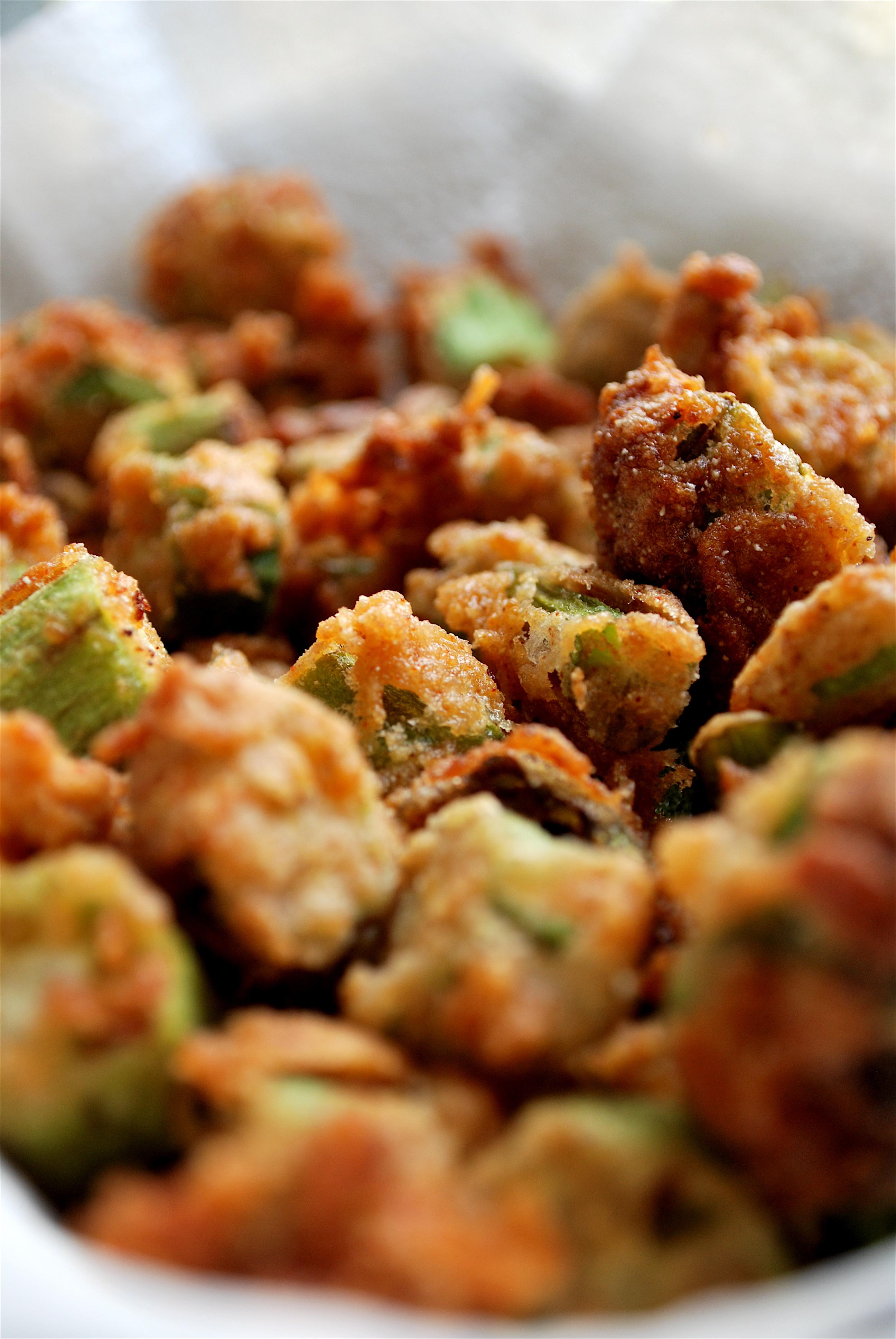 deep) fried okra | heedthefeed